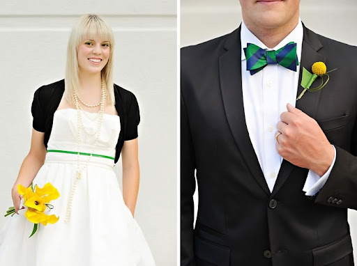 Get some easy tips on matching the bride and groom 39s wedding attire to make