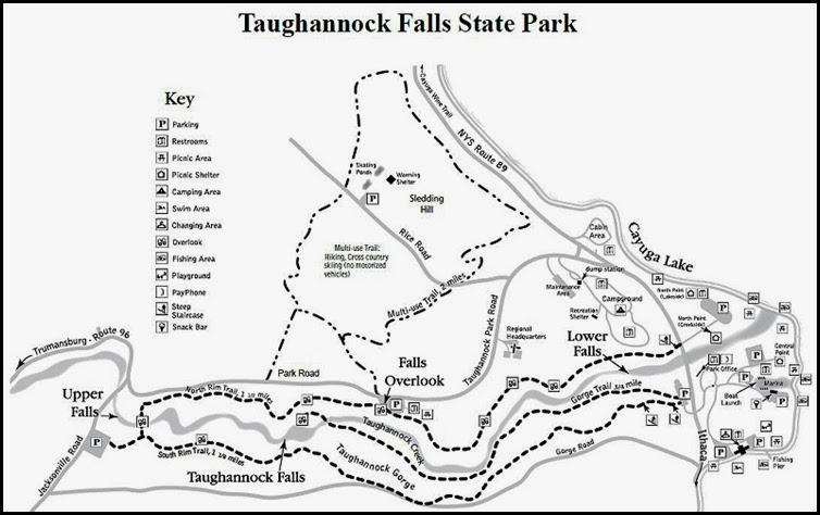 00a- Taughannock Falls SP Map