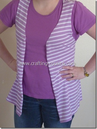 no sew vest from a tee shirt (18)