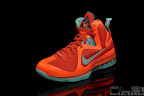 lebron9 allstar galaxy 54 web black Nike LeBron 9 All Star aka Galaxy Unreleased Sample