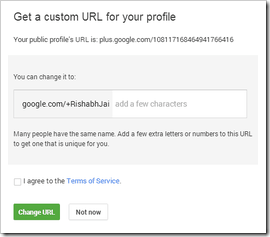 google  custom url