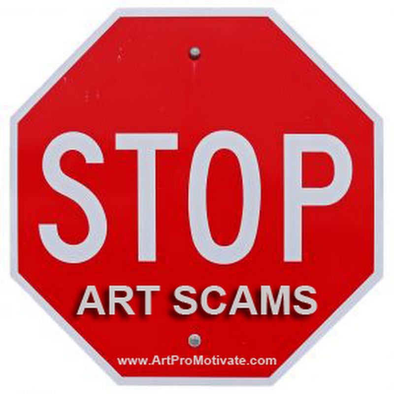 Online Email Art Scams Alert - Don't be a Victim!