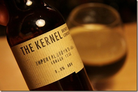 The Kernel brown imp stout label