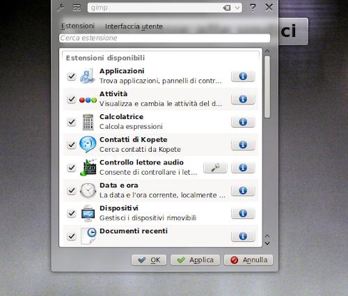 KRunner - KDE