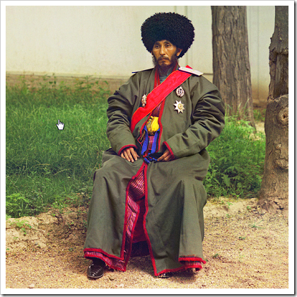 Isfandiyar, Khan of the Russian protectorate  of Khorezm
