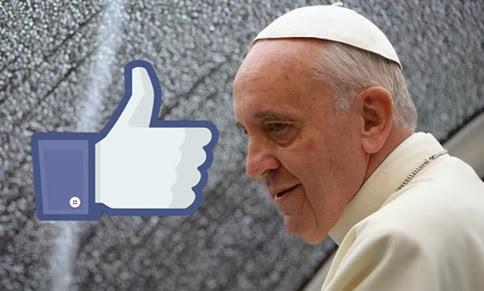 El Papa Francisco es lo más popular de Facebook este 2013
