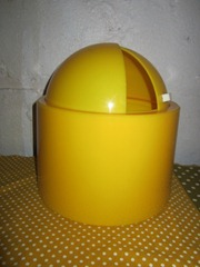 Dome Master ice bucket, yellow