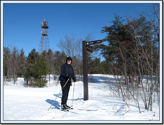 Martin makes it to the Fire Tower
