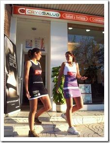 Cryosalud, empresa de salud y belleza y propietaria en exclusiva de criosaunas en España, es patrocinador del equipo de pádel femenino de las Gemelas Sánchez Alayeto, Mapi y Majo