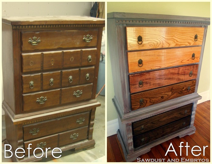 ombre stain dresser4
