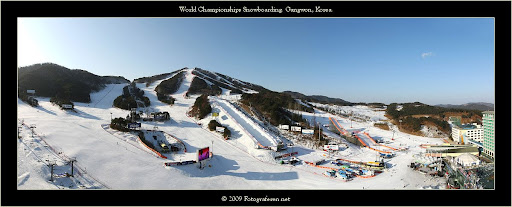 The Hyunday Gangwon Resort in Korea.