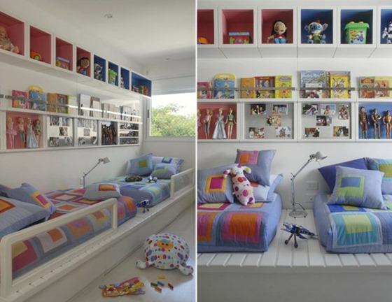 quarto de menino quarto de menina