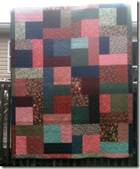 Kelly's quilt 1