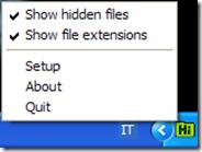 Visualizzare cartelle e file nascosti nel PC con un clic di mouse: Hifito