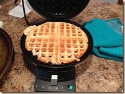 first ever waffle