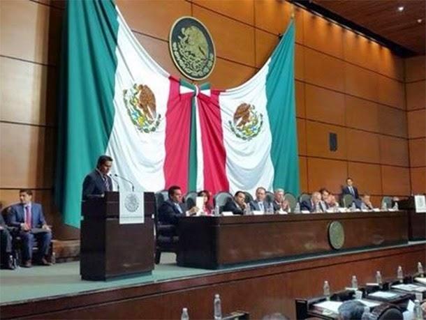 Detalla Ruiz Esparza alcances de nuevo aeropuerto a diputados