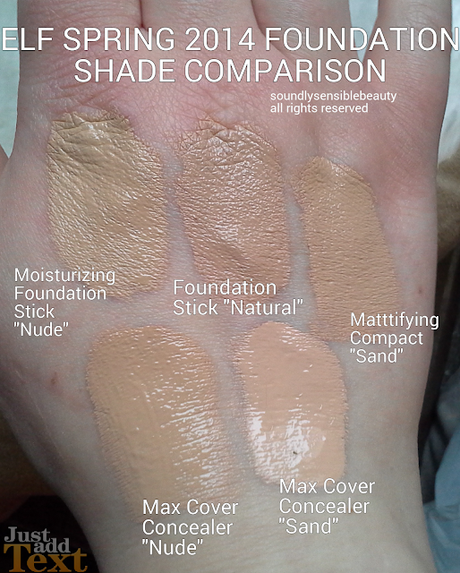 E.l.f. Mattifying Compact Foundation Cream Review & Swatches of Shades
