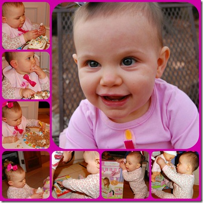 Cailyn's Birthday Collage