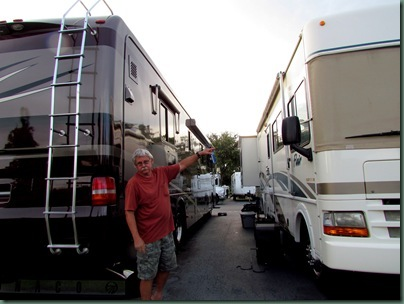 Al and old and new motor home