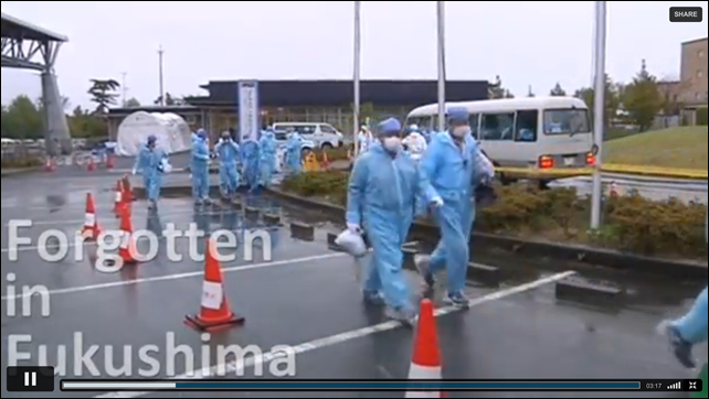 'Forgotten in Fukushima' video by Reuters shows how workers at the Fukushima Daiichi plant face low pay, high risks, and gangsters. Photo: Reuters