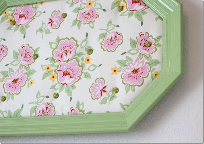 Framed Tufted Fabric