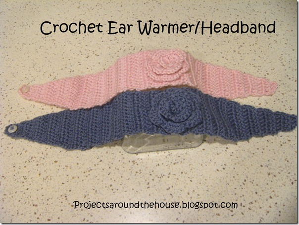 Crochet Ear Warmer/Headband