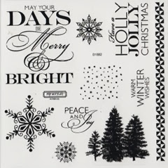 Frosted Cardmaking stamp set image