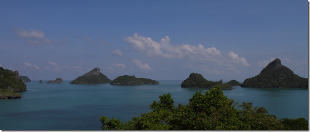 The natural wonder of Angthong Archipelago