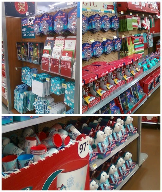 Hallmark North Pole products at Walmart