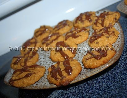 Coconut Chocolate Chip Cookies - baked 2