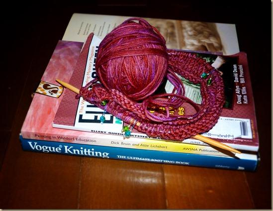 Yarn Along 4-17-8