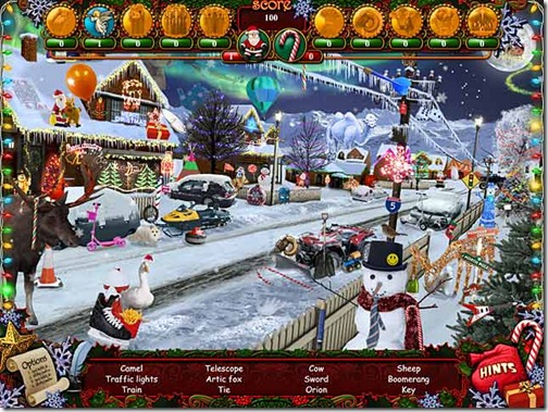 Help Santa Claus in his amazing Christmas Wonderland!