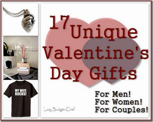 17 fun Valentine presents for men and women