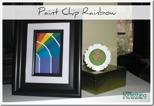 Paint Chip Rainbow Project Gallery