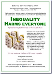 Inequality Poster