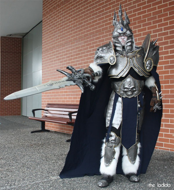 Supanova Sydney 2013 Cosplay - World of Warcraft - Lich King