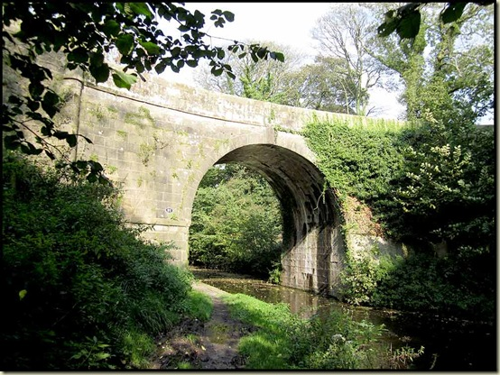 On the Lancaster Canal between Galgate and Lancaster - bridge no 91