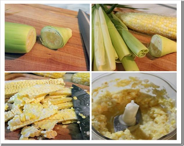 Tamales de elote receta