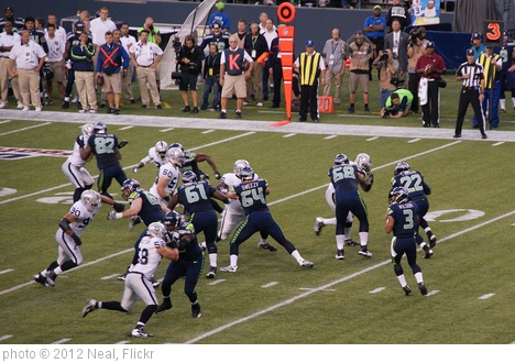 'QB Russell Wilson in the Pocket' photo (c) 2012, Neal - license: http://creativecommons.org/licenses/by-sa/2.0/