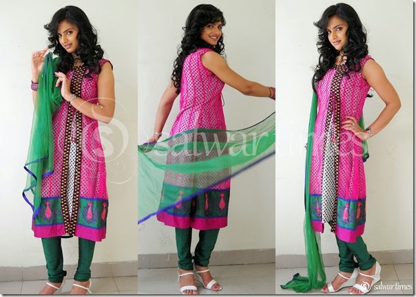 Ritu_Kaur_Pink_Half_Saree