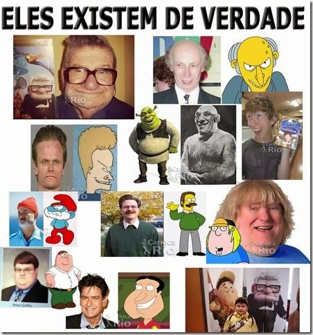 ELES EXISTEM DE VERDADE