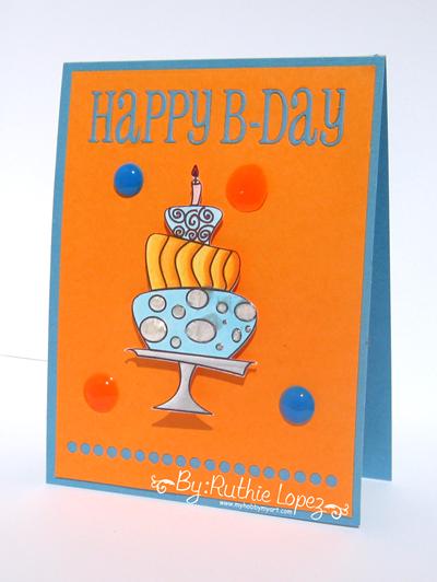 Garabattas - Birthday Ca - Happy Birthday Card - Ruthie Lopez - My hobby my art