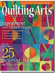 Quilting Arts Magazine Cover, Issue 65