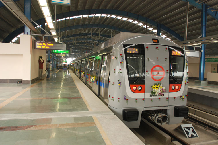 An overview of the Delhi Metro Train