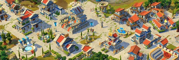 AoEO RTS RPG Multiplayer Estratégia Matérias Quests