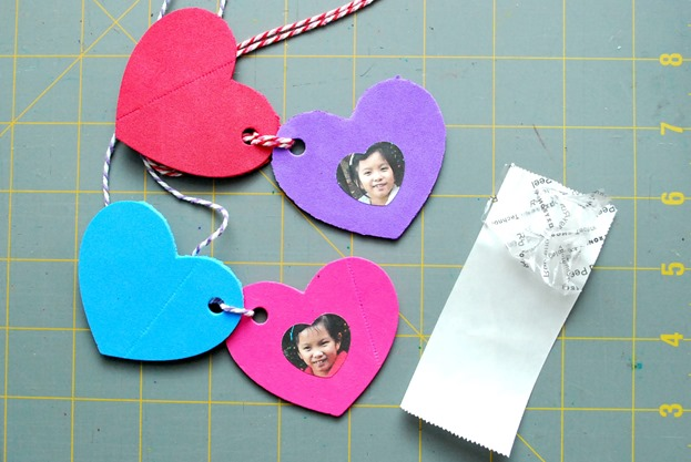 Foam Heart Locket 5
