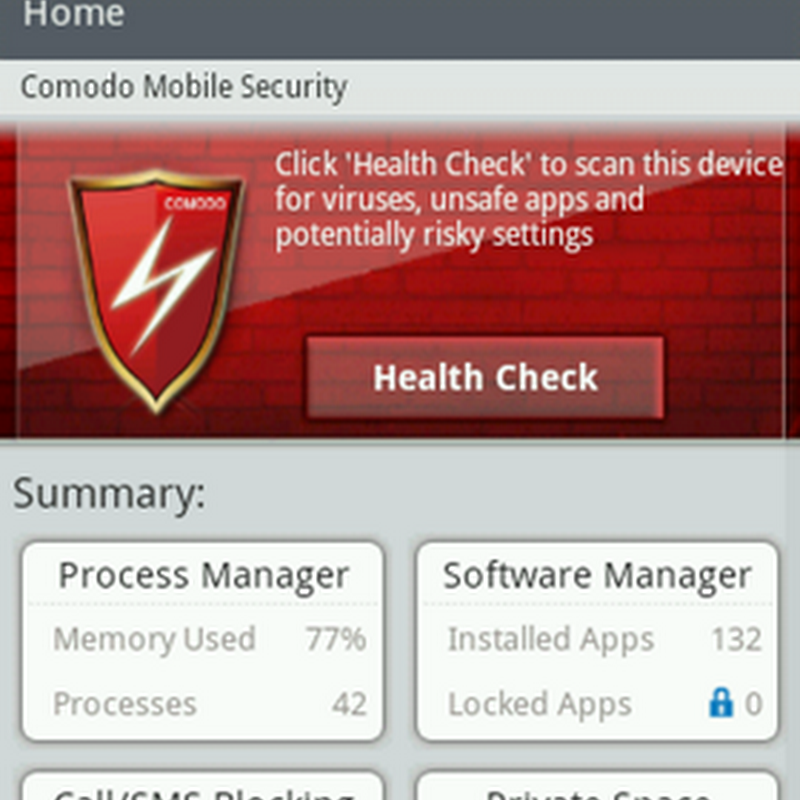 Comodo Mobile Security For Android is More Than an Anti-Virus