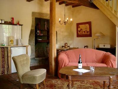 Gite Mirifique Interieur salon/cuisine