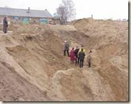 chantier de fouilles vilnius Les fantômes oubliés d'Antakalnis