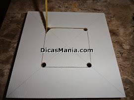 serrando a caixa mdf